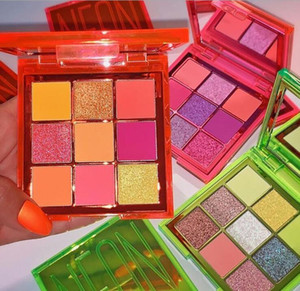 Wholesale neon colors resale online - Makeup Beauty Eyeshadow Neon Obsessions Eye Shadow Palette PINK ORANGE GREEN Palettes Colors Shimmer Shinning Matte Eye Shade ePacket