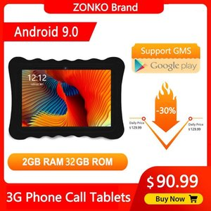 Wholesale 2gb ram sim tablet for sale - Group buy ZONKO inch Tablet PC Android Quad Core G Phone Call Tablet GB RAM GB ROM IPS Dual SIM Card WiFi GPS Tablets1