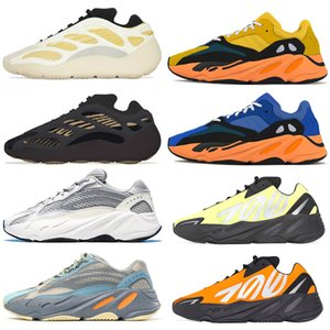 Wholesale blue spiked sneakers for sale - Group buy 2021 wave runner v1 v2 v3 mnvn men women shoes Safflower Sun Clay Azareth Alvah Azael Bone Inertia sports sneakers trainers