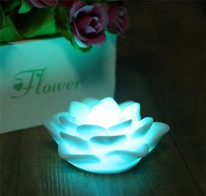 veilleuse fleur de lotus achat en gros de-news_sitemap_homeRomantique Lotus Flower Night Couleur Couleur Changer Lotus Flower LED Night Light Lampe Amour Romantique Lampe d humeur Decora Wmtsdy DH_Garden
