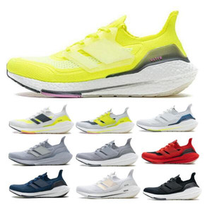 Wholesale woman tenis shoes resale online - Ultraboost UB Men Women Running Shoes Sneaker New Arrival Trainer White Cloud Tenis Halo Silver Triple Black Yellow Shoes