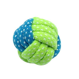 Wholesale large rope balls resale online - 7pcs Dog Pet Toys Pet Puppy Chew Toy Ball Cotton Rope Knot Playing Interactive Toys For Small Medium Large Dogs sqcXJZ