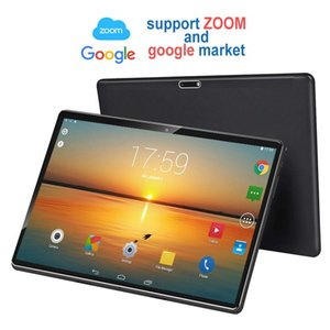 Wholesale new octa core tablet resale online - New Tablet Pc inch Android GB Tablets Octa Core Google Play G G LTE Phone Call Bluetooth Tempered Glass inch