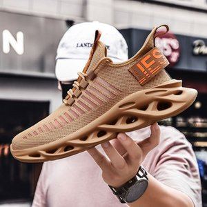 Wholesale spring blades shoes resale online - Men Tennis Running Shoes Sneakers Knit Platform Blade Sport Training Shoes New Men Casual Walking Shoes Plus Size