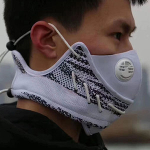 Wholesale sports face masks resale online - Kanye Designer Party Masks Men Fashion Washable Anti Dust Cotton Face Mask Sports Sneakers Cycling Mask Reusable Face Mouth Masks