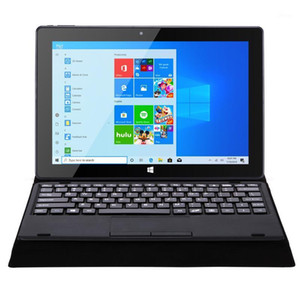 Wholesale black intel core notebook resale online - 2 In Windows Tablet PC Netbook quot Intel N3450 Quad Core GB RAM DDR4 GB ROM Ultra Thin Notebook USB Dual Camera1