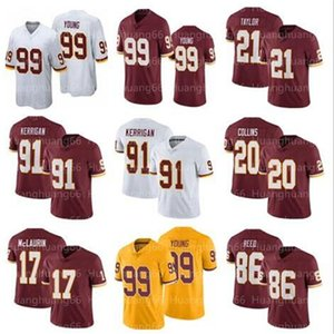 7 Dwayne Haskins Jersey 99 Chase Young 91 Ryan Kerrigan Jersey 20 Landon Collins Jerseys 21 Taylor men
