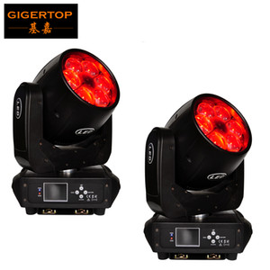 Wholesale moving heads controller for sale - Group buy TIPTOP XLot x40W RGBW in1 Mini Bee Eye Zoom Moving Heads DMX Controller DJ Lights Led Moving Heads LCD Display
