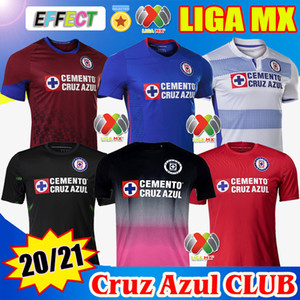 2020 2021 Club Cruz Azul Soccer Jerseys 20 21 Home Away Third Red Football Shirts LIGA MX camisetas de futbol Kit Goalkepeer Jersey