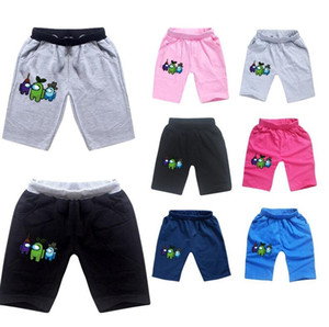 Wholesale natural colored cotton for sale - Group buy Hot Game Among Us Shorts Cartoon Anime Kids Boys Girls Short Pants Children Clothing Soft Cotton Summer Shorts Sports Beach Shorts CZ122803