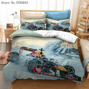 Wholesale race car beds for sale - Group buy 2 Pieces Game Cartoon Bedding Set D Print Famous Car Duvet Cover Home Racing Bed Quilt Cover For Kids Boy Bed Sets