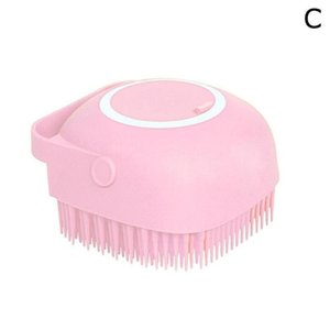 Wholesale scrubbing bubbles for sale - Group buy Sile Brush With Hook Soft Sile Baby Showers Cleaning Mud Dirt Remover Massage Back Scrub Showers Bubble jllnom