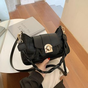 Wholesale crocodile designer bag for women resale online - Crocodile Fashion Crossbody Lock For New Luxury Handbags Bags Leather Shoulder Pattern Lady Women Bags High Quality PU Bag Rvlxm