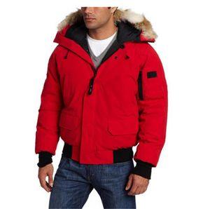 Classic Mens Winter Coats Doudoune Down Jackets Veste Homme Outdoor Winter Jassen Outerwear Fur Hooded Fourrure Manteau Hiver Parka Bomber