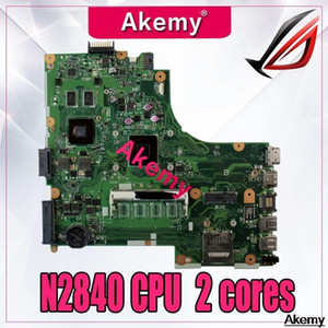 Wholesale intel laptop motherboards cpus for sale - Group buy X450MJ Laptop Motherboard For Asus X450MD X450M X452M X450MJ Mainboard Tested With N2840 CPU cores1