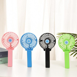 Wholesale fans desk for sale - Group buy Rechargeable Fan Air Cooler Mini Operated Hand Held mah Desk Pocket USB Portable Office Fan Party Favor OWF1744