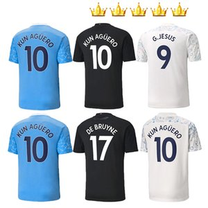 Men +Kids kits 2020 2021 soccer jerseys Women MAHREZ DE Bruyne KUN AGUERO football shirt city 20 21 MENDY SANE manChester maillot de foot