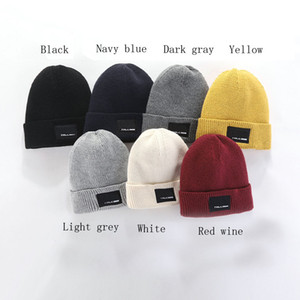 Wholesale cap side resale online - 2020 Fashion Beanies TN Brand Men Autumn Winter Hats Sport Knit Hat Thicken Warm Casual Outdoor Hat Cap Double Sided Beanie Skull Caps