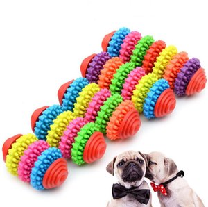 Wholesale chew gum for sale - Group buy Small Pet Dog Puppy Colorful Rubber Dental Teething Healthy Teeth Gums Chew Toys SN1890
