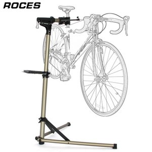 Wholesale aluminum bike stand for sale - Group buy Aluminum Alloy Bike Repair Stand Professional Bicycle Repair Tools Adjustable Fold Bike Rack Holder Storage Bicycle Stand