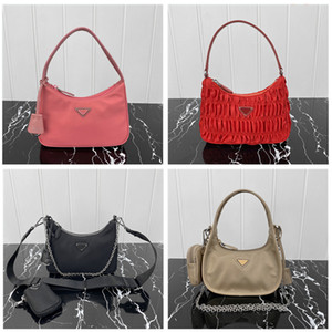 Wholesale bag packs for women resale online - High quality fashion Moon Shaped Middle Ages shoulder bags tote hobo for women s Chest pack women handbags messenger Bag Parachute fabric canvas Crossbody