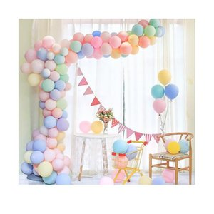 Wholesale balloon arches resale online - 1pcs Single Double Hole Clear Balloon Accessories Strip Arch Garland Balloon Wedding Birthday Party Decorations Supp sqcMpr