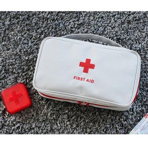 Wholesale emergency first aid resale online - New Creative Portable Empty First Aid Bag Kit Pouch Home Office Medical Emergency Travel Rescue Case Bag Medical Storage Bag EWD3378