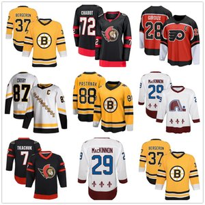 senador ottawa venda por atacado-Boston Bruins Flyers Rangers Ottawa Senators Thomas Chabo Fanáticos Colorado Avalanche Nathan Mackinnon Branco Jogador Yakuda Best Sport