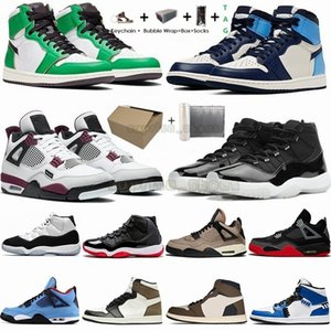 Wholesale retro air trainer for sale - Group buy Air Dark Mocha s Jumpman Basketball Shoes Forces S Travis Scotts Cactus Retro Trainers S Bred White th Men Women Sneakers