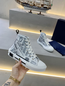 Wholesale ups package for sale - Group buy Best limited edition custom printed canvas shoes fashion versatile high and low shoes with original packaging shoe box delivery