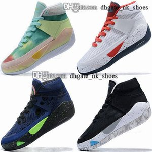 Wholesale kd shoes high cut resale online - trainers zapatillas ladies women high top sports scarpe kevin shoes durant eur Sneakers basketball KD xiii size us KD13 men