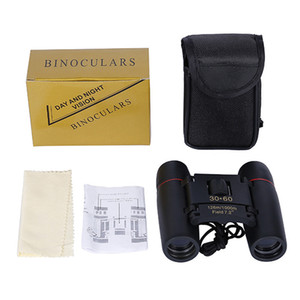 Wholesale night vision binoculars for sale - Group buy Day night vision HD High Power Mini Zoom Telescope About x60 Folding Binoculars For Outdoor Bird Watching Travelling Camping m DHL