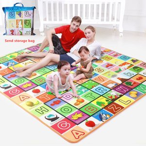 Wholesale kid games play for sale - Group buy 200 Bagged Baby Play Mat Kids Developing Mat Eva Foam Gym Games Play Puzzles Baby Carpets Toys for Children s Rug Soft Floor Q1120