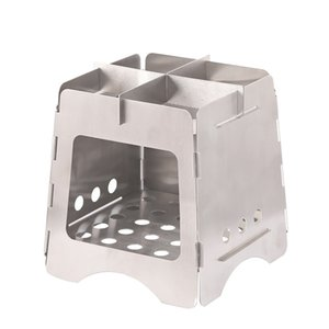 Wholesale stove top resale online - Top rated Portable Camping Hiking outdoor stove stainless steel wood burning cook stove