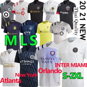 ingrosso la galassia-20 mls Soccer Jerseys Inter Miami La Galaxy FC Minnesota DC United New York Red Orlando City Bulls Atlanta Montreal Impact Football Camicia