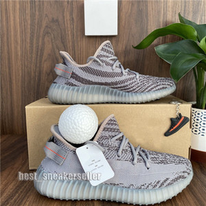 Top quality 2020 Kanye West Men Women Running Shoes Yecheil Yeezreel Cinder Desert Sage Earth Stock Abez Eliada Trainers Sneakers Double Box