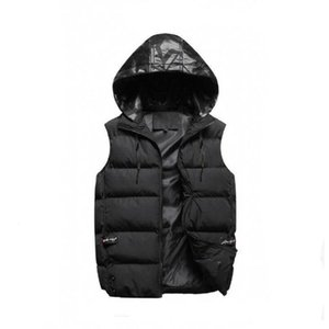 Wholesale Men outer wear winter waistcoat down vest feather design jackets casual vests coat mens down coats