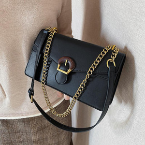 Wholesale hold chains resale online - 2021 New Shoulder Bag Messenger Bag Chain Hand held Women s Square Underarm