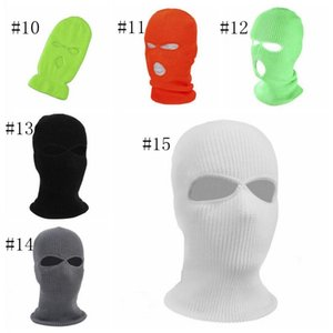 bicicletas cara casquillo al por mayor-Ciclismo Face Masks Hats Winter Warmer Face Face Cap Balaclavas A prueba de viento Bicicleta Motocicleta Bufanda Máscara Snowboard Ski Hobekear Mask GWC5289