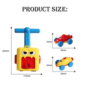 Wholesale balloon cars for sale - Group buy Hot Toy Educational Science Power Balloon Car Montessori Toys Experiment Toy Inertial Launch Tower Cars Toys for Children Gift L0323