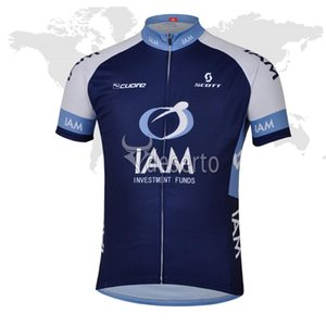 Wholesale summer spain resale online - New IAM Cycling Jersey Ropa Ciclismo Hombre Summer Bicycle Clothes mtb Sportswear MTB Bike Cycle Racing Clothing spain shirts