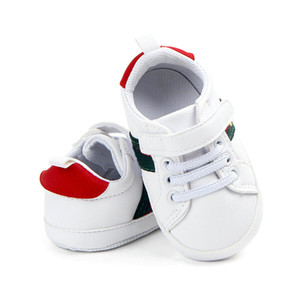 Wholesale babies boys shoes resale online - Baby Boy Shoes Infant Toddler Soft Sole Prewalker Sneakers Baby Girl Crib Shoes Months
