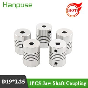 Wholesale flexible couplings for motors resale online - Flexible Coupling OD x25mm Dropshipping CNC Motor Jaw Shaft Coupler mm x mm for D printer accessories
