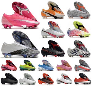 2021 Men Va pors XIII Elite FG 13 CR7 SAFARI Ronaldo Pink 360 Women Boy Soccer Football Boots Shoes Size 35-45
