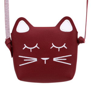 Wholesale princess bags for kids for sale - Group buy 2021 New Bags Coin Purse Cute Cat For Shoulder Suede Mini Messenger Children s Faux Bag Princess Small Baby Kids Girl Uphgx