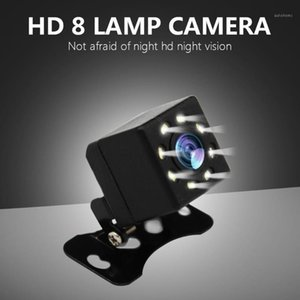 Wholesale universal car parts resale online - Universal Car Reverse Camera Video Recorder LEDs Night Vision Rear View Light Auto Parts Wide View Angle with LED Car Tools1