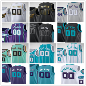 Wholesale green mile for sale - Group buy Custom Printed LaMelo Ball Gordon Hayward Miles Bridges Terry Rozier III Devonte Graham Men Woman Kids Youth Basketball Jerseys