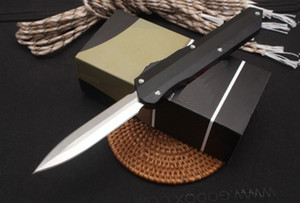 Wholesale micro blades resale online - Micro BM Automatic knife D2 double action EDC pocket defense camping tactical knife Bench outdoor survival Auto knife bm3300 A163 UT85