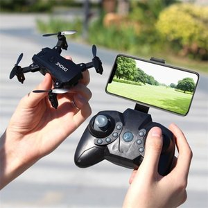 Wholesale mini dron for sale - Group buy Foldable Mini Drone RC FPV HD Camera Wifi FPV Dron Selfie RC Helicopter Juguetes Toys for Boys Girls Kids LJ201210