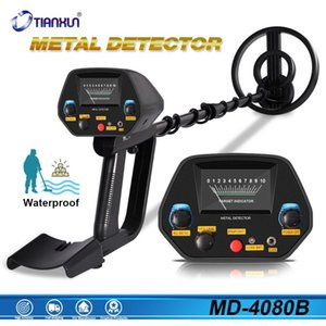 Wholesale detect gold underground for sale - Group buy MD4080 Portable Easy Installation Underground Metal Detector High Sensitivity Jewelry Treasure Gold Metal Detecting